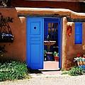 Behind A Blue Door 1 by Mel Steinhauer