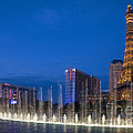 Bellagio Fountains by Jim West