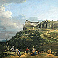 Bellotto's The Fortress Of Konigstein by Cora Wandel