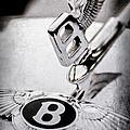 Bentley Hood Ornament - Emblem by Jill Reger