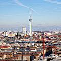 Berlin Cityscape by Jannis Werner