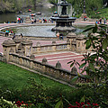 Bethesda Fountain - Central Park Nyc by Christiane Schulze Art And Photography
