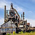 Bethlehem Steel Mill by Bill Cannon