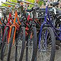 Bicycles In Amsterdam by Jaroslav Frank