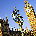 Big Ben And Palace Of Westminster by Elena Elisseeva