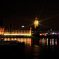 Big Ben And The House Of Parliment On The Thames by Doc Braham
