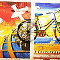 Biking In Bejing by Jean Schweitzer