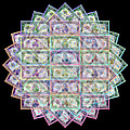 1 Billion Dollars Geometric Black by Tony Rubino