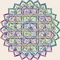 1 Billion Dollars Geometric Tan by Tony Rubino