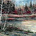 Birch Lake by Steven Schultz