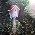 Bird House by June Weaver