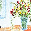 Birthday Flowers by Wade Binford