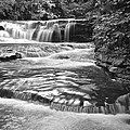 Black And White Cascade by Frozen in Time Fine Art Photography