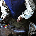 Blacksmith At The Old Fort by Catherine Sherman