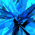 Blue Abstract by Phil Perkins