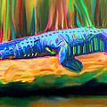 Blue Alligator by Deborah Boyd