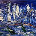 Blue City by Mark Kazav