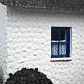 Blue Cottage Window