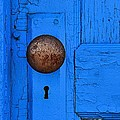Blue Door by Lauren Leigh Hunter Fine Art Photography