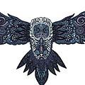 Blue Owl by Karen Elzinga