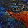 Sold   Blue Power   by MarianneB Van der Haar