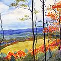 Blue Ridge Mountains Of West Virginia by Katherine Miller