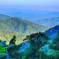 Blue Ridge Parkway National Park Sunset Scenic Mountains Summer  by Alex Grichenko