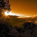 Blue Ridge Sunrise by Raleigh Art Gallery