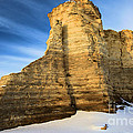Blue Skies At Monument Rocks by Adam Jewell