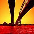 Blue Water Bridge by Randy J Heath