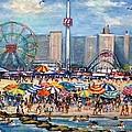 Boardwalk New Jersey by Philip Corley