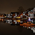 Boathouse Row Lights by Bill Cannon