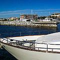 Boats In Port by Mechala Matthews