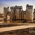 Bodiam Castle by Donald Davis