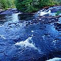 Bog River Falls by Jeffery L Bowers