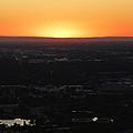 Boise Id Sunset by Fernando Delgado