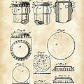 Bottle Cap Patent 1892 - Vintage by Stephen Younts