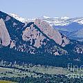 Boulder In The Summertime by Steve Krull