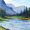 Bow River by Diane Ellingham