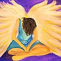 Bowing Angel by Linda Waidelich