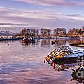 Bowling Harbour Panorama 02 by Antony McAulay
