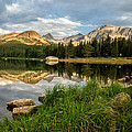 Brainard Lake Reflections by Ronda Kimbrow