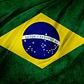 Brazilian Flag by Les Cunliffe
