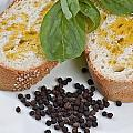 Bread And Olive Oil by Enrico Mariotti