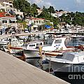 Brela Harbour Croatia by David Fowler
