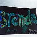 Brenda  by GOLDA Zehava TALOR