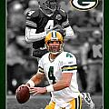 Brett Favre Packers by Joe Hamilton