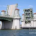 Bridge Of Lions St Augustine Florida by Bill Cobb