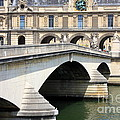 Bridge Over The Seine by Carol Groenen