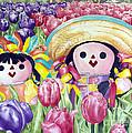 Brings May Flowers by Kandyce Waltensperger